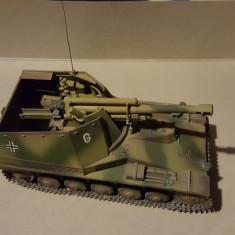 + Macheta 1:35 montata Tanc german Wespe + - Macheta auto Alta