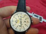 Ceas EMPORIO ARMANI - Barbatesc, Modelul 2, Cadran Alb, Quartz, Casual, Inox