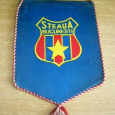 MCF - FANION - STEAUA BUCURESTI - PIESA DE COLECTIE - Fanion fotbal