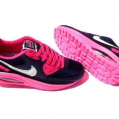 NIke Air Max Walkmaxx - Adidasi dama Nike, Culoare: Bleumarin, Marime: 35, 36, 37, 38, 39, Textil
