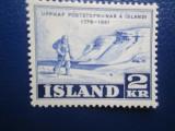 TIMBRE ISLANDA NESTAMPILATE, Nestampilat