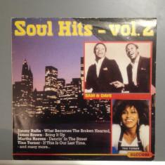 SOUL HITS cu :SAM COOKE, J.BROWN, T.TURNER (1989/ SUCCES /RFG ) - Vinil/Impecabil - Muzica Rock Altele