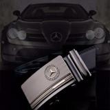 NOU! Curea Mercedes Benz Piele Naturala, 125cm, Negru