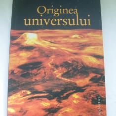 ORIGINEA UNIVERSULUI JOHN D.BARROW - Carte Astronomie, Humanitas