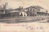 SALUTARI DIN TURNU SEVERIN, GARA , CLASICA , CIRCULATA 1900, Printata, Drobeta-Turnu Severin