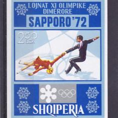 Sport jocurile olimpice de iarna ,Albania., Nestampilat