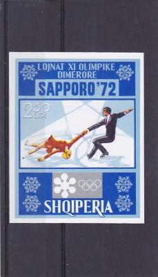 Sport jocurile olimpice de iarna ,Albania. foto