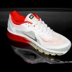 Adidasi Nike AIR MAX AIRMAX 90 alb-rosu - Adidasi barbati Nike, Marime: 44