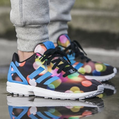 Adidasi Originali 100% ZX Flux autentici ! DIN GERMANIA NR 40 2/3 - Adidasi barbati, Culoare: Din imagine
