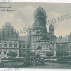 2286 - Bucovina CERNAUTI, Resedinta Metropolitana - old postcard - used - 1918 - Carte Postala Bucovina 1904-1918, Circulata, Printata