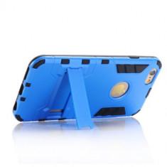 "Husa iPhone 6plus 5.5"" hard duty anti shock HYBRID albastra produs nou 2016, iPhone 6 Plus, Albastru, Plastic, Apple"