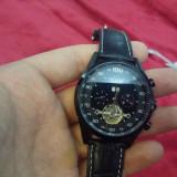 Ceas - JARAGAR - Automatic si Mecanic - CUrea Piele, Data, Barbatesc - Ceas barbatesc, Casual, Mecanic-Automatic, Analog, Nou