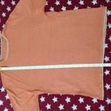 Tricou fabricat in Romania culoare Roz/Rosu URGENT, L, Maneca scurta, Din imagine