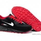 Adidasi Nike AIR MAX AIRMAX 90.Negru-Rosu. - Adidasi barbati Nike, Marime: 40