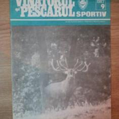 REVISTA ''VANATORUL SI PESCARUL SPORTIV'', NR. 9 SEPTEMBRIE 1987