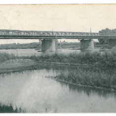2630 - Bucovina CERNAUTI, Bridge - old postcard - used - 1918 - Carte Postala Bucovina 1904-1918, Circulata, Printata