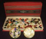Lot 400 nasturi de colectie anii 50-70, obiecte vechi de artizanat