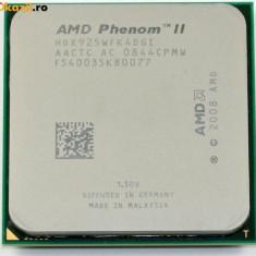 Procesor Quad Core Am3 AMD Phenom II X4 925 2.8Ghz 6MB L3 95W Tray HDX925WFK4DGI - Procesor PC AMD, Numar nuclee: 4, 2.5-3.0 GHz