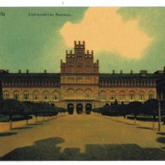 2727 - Bucovina CERNAUTI, Resedinta Metropolitana - old postcard - used - Carte Postala Bucovina 1904-1918, Circulata, Printata
