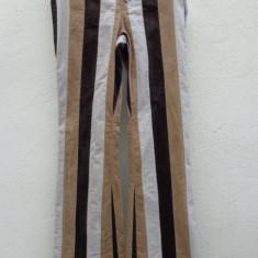 Pantaloni Tommy Hilfiger originali noi cu eticheta - Pantaloni dama Tommy Hilfiger, Marime: M, Culoare: Multicolor, Lungi, Catifea