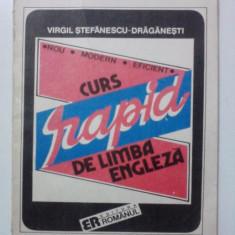 Curs rapid de limba engleza - Virgil Stefanescu / C34P - Curs Limba Engleza