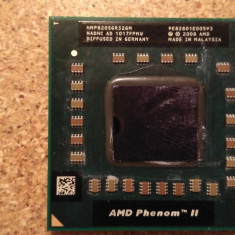 Procesor AMD PHENOM II TRIPLE CORE MOBILE P820 HMP820SGR32GM 1.8GHz 3X512KB - Procesor laptop AMD, S1