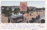 BRAILA , PIATA REGALA , TAMVAI , TRASURI , CLASICA , TCV , CIRCULATA  OCT. 1902, Printata