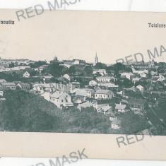 2732 - Bucovina CERNAUTI, Panorama - old postcard - used - 1915 - Carte Postala Bucovina 1904-1918, Circulata, Printata