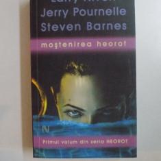 MOSTENIREA HEOROT de LARRY NIVEN, JERRY POURNELLE, STEVEN BARNES, 2008 - Carte in alte limbi straine