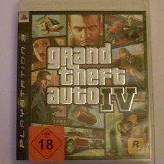 GTA Grand Theft Auto 4 PS3 - Jocuri PS3, Actiune, 18+