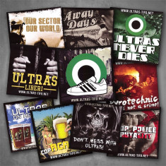 Autocolante autocolant stickere ultras-tifo set 2 - 100 bucati/set - Sticker laptop