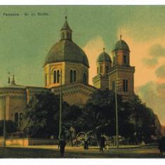 2691 - Bucovina CERNAUTI, Church Paraschiva - old postcard - unused - 1911 - Carte Postala Bucovina 1904-1918, Necirculata, Printata