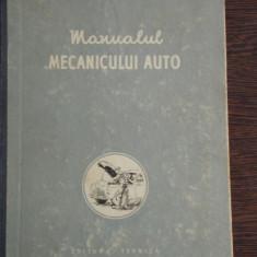 MANUALUL MECANICULUI AUTO - P.A. KOLESNIK