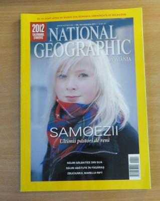 National Geographic Romania #Noiembrie 2011 Samoezii, Rauri salbatice din SUA foto
