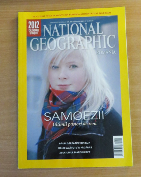 National Geographic Romania #Noiembrie 2011 Samoezii, Rauri salbatice din SUA
