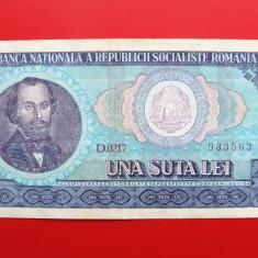 ROMANIA - 100 Lei 1966 - Bancnota romaneasca