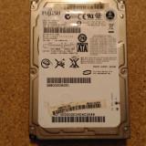 Hard-disk / HDD FUJITSU 250GB MHX2250BT Defect -Sectoare realocate - HDD laptop Fujitsu, 200-299 GB, SATA