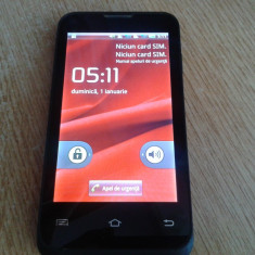 PRESTIGIO MULTIPHONE PAP4020 DUO FUNCTIONAL CU TOUCH DEFECT - Telefon mobil Prestigio, Negru, <1GB, Neblocat, Dual SIM, Single core