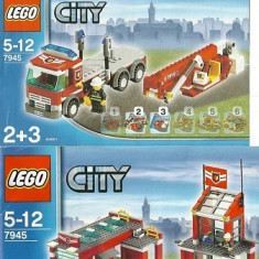 LEGO 7945 Fire Station - LEGO City