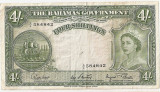 Bahamas 4 Shillings ND(1953) VF