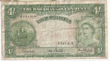 Bahamas 4 Shillings ND(1953) F