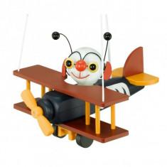 Pendul copii energy saving Eglo Airman 85059 1x 15W E27 - Avion de jucarie