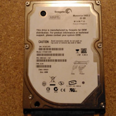 Hard-disk / HDD SEAGATE MOMENTUS 60GB ST96812AS Defect - Nu se alimenteaza - HDD laptop Seagate, 41-80 GB, SATA