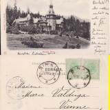 Sinaia (clasica) - Castelul Peles -1902- Editura Stengel