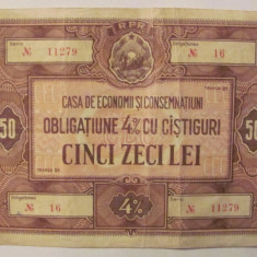 CY - Obligatiune 4% RPR 50 lei CEC