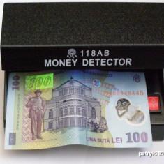 Detector verificator de bacnote