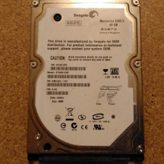 Hard-disk / HDD SEAGATE MOMENTUS 60GB ST96812AS Defect - Nu comunica, 41-80 GB, SATA
