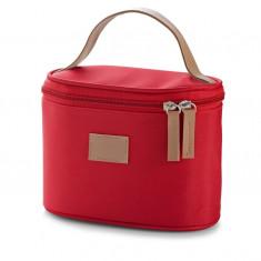 Geanta pentru cosmetice rosie - Geanta cosmetice
