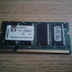 MEMORIE LAPTOP DDR 512 MB 333MHZ KINGSTON KTH-ZD7000/512 PERFECT FUNCTIONALA - Memorie RAM laptop