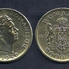 ROMANIA MIHAI I 2000 2.000 LEI 1946 [1] XF / a UNC, liv in catonas- LUCIU - Moneda Romania, Alama